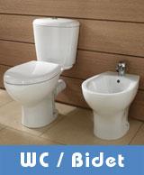 Wc - toilettes - bidet