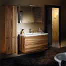 SANIJURA Meuble salle de bains LIGNUM Noyer
